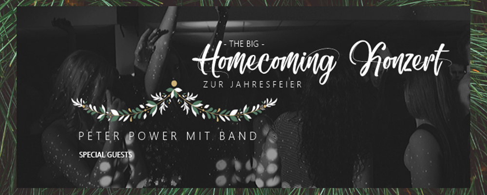 Homecoming Konzert zur Jahresfeier